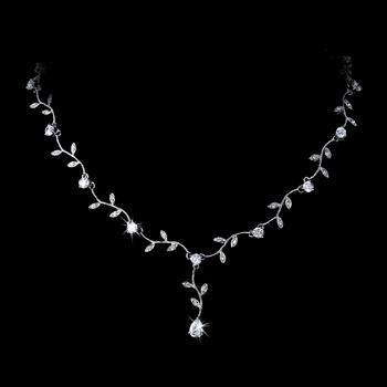 Elegant Leaf Design Necklace Adams JewelersAdams Jewelers